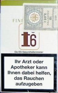 Warnung auf Zigarettenpackung in Deutschland 2006