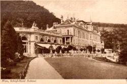Beispiel für eine historische Ansichtskarte - Wien