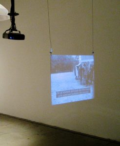 Videoprojektion Venedig 2011
