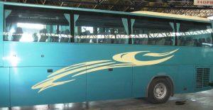 Bus der griechischen Intercity-Busgesellschaft KTEL