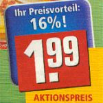 Preis - Rewe 2010