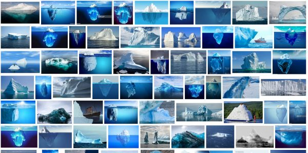 "Google-Bildersuche ""iceberg"" 20.2.2018 Screenshot#1"