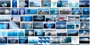 "Google-Bildersuche ""iceberg"" 20.2.2018 Screenshot#2"