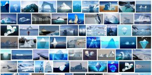 "Google-Bildersuche ""iceberg"" 20.2.2018 Screenshot#3"