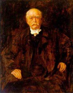 Lenbach, Porträt Bismarck
