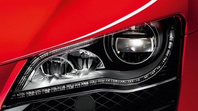 Audi R8 Scheinwerfer