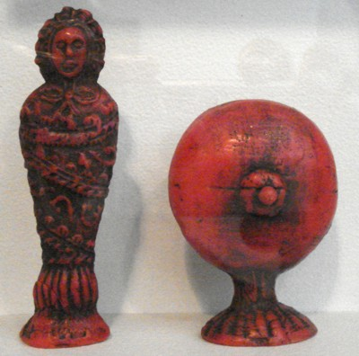 Zwei Wachsvotivgaben aus dem Heimatmuseum Erding