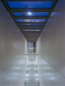 Treppenhaus im Museum der Moderne am Mönchsberg in Salzburg