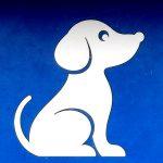 Piktogramm eines Hundes (Dackel)